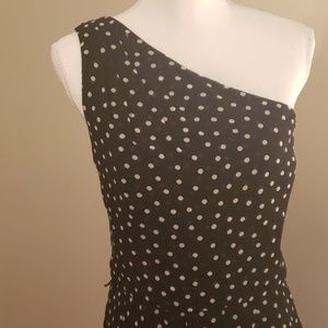 Black House White Market One Shoulder Dress 16